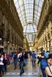 Galleria Vittorio Emanuele in Milan Stock Photos