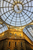 Galleria Vittorio Emanuele in Milan Stock Photo