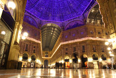 Galleria Vittorio Emanuele in Milan Stock Images