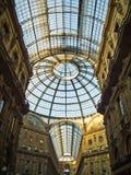 Galleria Vittorio Emanuele(Milan) Stock Photography