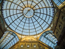 Galleria Vittorio Emanuele(Milan) Stock Photo