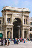 Galleria Vittorio Emanuele in Milan Royalty Free Stock Images