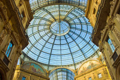 Galleria Vittorio Emanuele, Milan, Italy Royalty Free Stock Photography