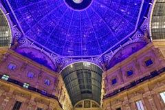 Galleria Vittorio Emanuele. Stock Photos