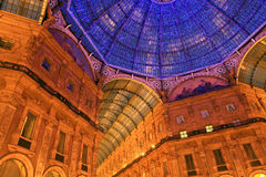Galleria Vittorio Emanuele. Royalty Free Stock Images