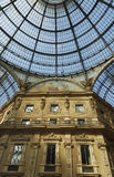 Galleria Vittorio Emanuele, Milan, Italy Stock Photos