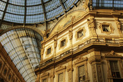 Galleria Vittorio Emanuele  in Milan Royalty Free Stock Photos