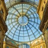 Galleria Vittorio Emanuele, Milan, Italy Stock Image