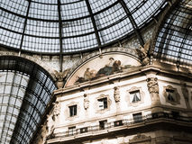 Galleria Vittorio Emanuele, Milan, Italy Royalty Free Stock Photos