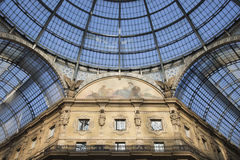 Galleria Vittorio Emanuele in Milan Italy Royalty Free Stock Images