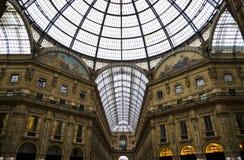 Galleria Vittorio Emanuele in Milan - Italy Stock Photos