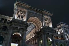 Galleria Vittorio Emanuele in Milan Royalty Free Stock Photos