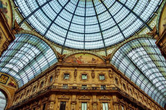 Galleria Vittorio Emanuele in Milan Royalty Free Stock Photo