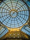 Galleria Vittorio Emanuele (Milano) Fotografia Stock Libera da Diritti