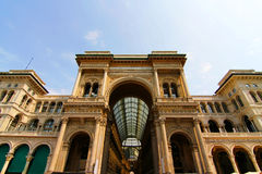 Galleria Vittorio Emanuele in Milano Royalty Free Stock Photos