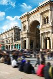 Galleria Vittorio Emanuele Milano Expo Stock Photo