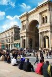 Galleria Vittorio Emanuele Milano Expo Royalty Free Stock Photos