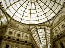 Galleria Vittorio Emanuele, Milano, Italy royalty free stock image