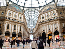 Galleria Vittorio Emanuele, Milano, Italy Royalty Free Stock Photo