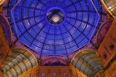 Galleria Vittorio Emanuele. Royalty Free Stock Image