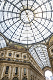 Galleria Vittorio Emanuele shopping Center in Milan, Italy Royalty Free Stock Photography