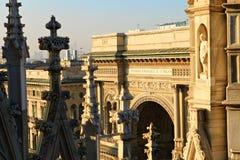 Galleria Vittorio Emanuele. Royalty Free Stock Photography