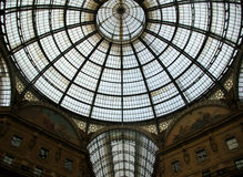 Galleria Vittorio Emanuelle in Milan Stock Photography