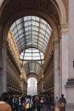 Galleria Vittorio Emanuelle in Milan Stock Images
