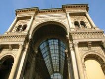 Galleria Vittorio Mailand Italien Stockbilder