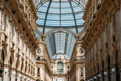 Galleria Vittorio Manuel Foto de archivo