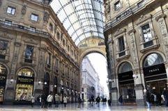 Galleria Vittorio Manuel II Fotos de archivo libres de regalías