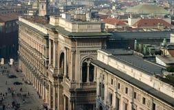 Galleria Vittorio Manuel II Imágenes de archivo libres de regalías