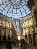 Galleria Vittorio Manuel II, Milano Imagenes de archivo