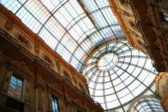Galleria Vittorio in Milan Stock Photos