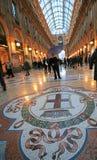Galleria Vittorio a Milano Fotografie Stock Libere da Diritti