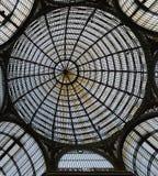 Galleriaen Umberto I Naples arkivfoto