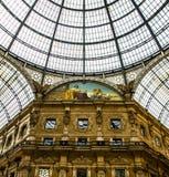 Galleriaen Vittorio Emanuele II i Milan Royaltyfri Bild