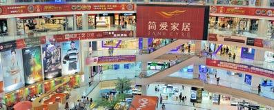 galleriashopping zhongshan arkivfoton