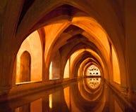 Gallerie della caverna di alcazar Fotografie Stock Libere da Diritti