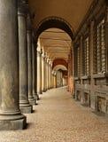 Gallerie della città di Bologna L'Italia Fotografia Stock