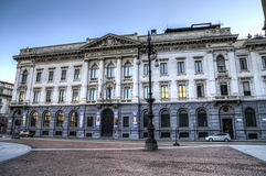 Gallerie di Piazza Scala, Milan, Italy royalty free stock image