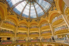 Gallerie Lafayette Royalty Free Stock Photography