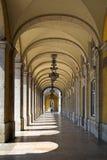 Gallerie a Lisbona fotografia stock libera da diritti