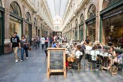 Gallerie reali di Bruxelles Fotografia Stock