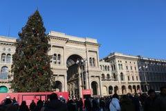 Gallerie Vittorio Emanuele, милан Стоковые Фотографии RF