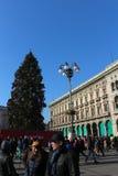 Gallerie Vittorio Emanuele, Milaan Royalty-vrije Stock Afbeeldingen