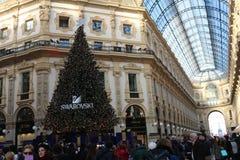 Gallerie Vittorio Emanuele, Milan. Symbol of Italian Fashion and Style Royalty Free Stock Photo