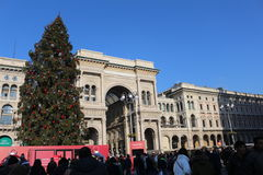 Gallerie Vittorio Emanuele, Milan. Symbol of Italy, Milan is a very modern city Royalty Free Stock Photos