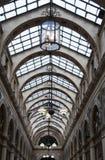 Gallerie Vivienne en París Foto de archivo libre de regalías