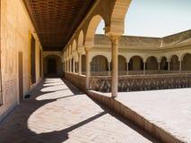 Gallerier av Casa de Pilatos, Seville Fotografering för Bildbyråer